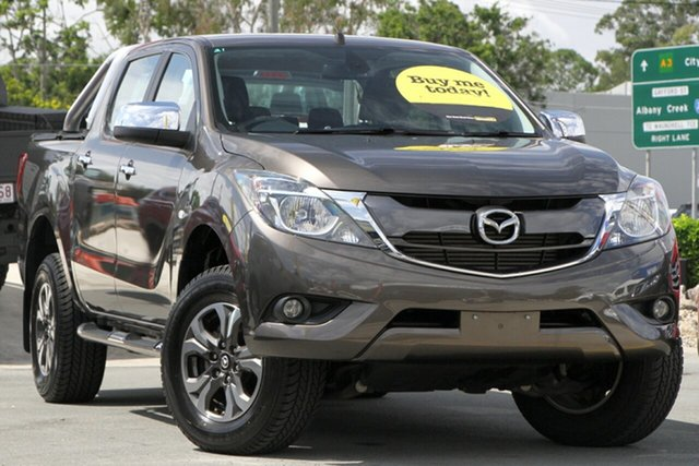 Used Mazda BT-50 UR0YG1 XTR Aspley, 2016 Mazda BT-50 UR0YG1 XTR Grey 6 Speed Sports Automatic Utility