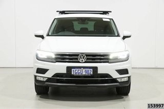 2017 Volkswagen Tiguan 5NA 140 TDI Highline White 7 Speed Auto Direct Shift Wagon.