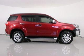 2018 Isuzu MU-X UC MY18 LS-T (4x4) Red 6 Speed Auto Sequential Wagon