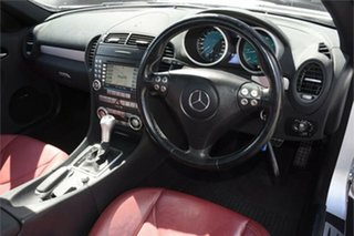 2005 Mercedes-Benz SLK-Class R171 MY06 SLK350 Silver 7 Speed Automatic Roadster