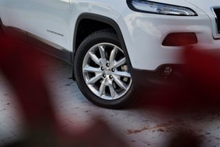 2014 Jeep Cherokee KL Limited Bright White 9 Speed Sports Automatic Wagon.