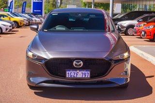 2019 Mazda 3 BP2H7A G20 SKYACTIV-Drive Evolve Grey 6 Speed Sports Automatic Hatchback