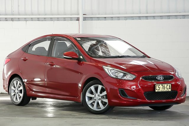 Used Hyundai Accent RB6 MY18 Sport West Gosford, 2018 Hyundai Accent RB6 MY18 Sport Red 6 Speed Sports Automatic Sedan