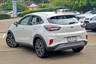 2020 Ford Puma JK 2020.75MY Puma White 7 Speed Sports Automatic Dual Clutch Wagon.