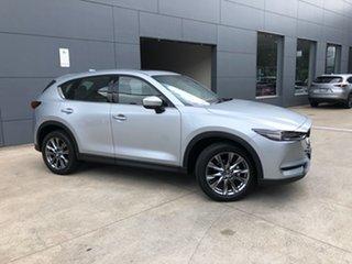 2020 Mazda CX-5 KF4WLA Akera SKYACTIV-Drive i-ACTIV AWD Sonic Silver 6 Speed Sports Automatic Wagon.