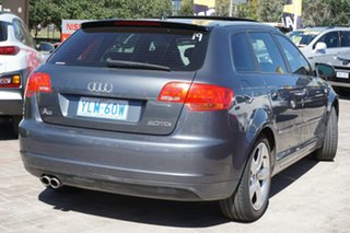 2007 Audi A3 8P Ambition Sportback S Tronic Grey 6 Speed Sports Automatic Dual Clutch Hatchback