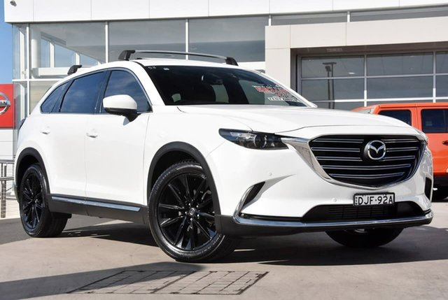 Used Mazda CX-9 TC GT SKYACTIV-Drive i-ACTIV AWD Liverpool, 2016 Mazda CX-9 TC GT SKYACTIV-Drive i-ACTIV AWD Snowflake White 6 Speed Sports Automatic Wagon