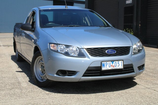 Used Ford Falcon BF MkII XL (LPG) West Footscray, 2008 Ford Falcon BF MkII XL (LPG) Blue 4 Speed Auto Seq Sportshift Utility