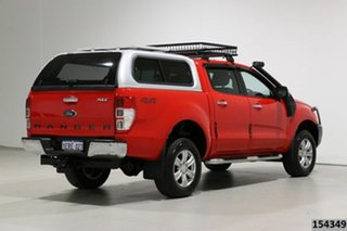 2015 Ford Ranger PX XLT 3.2 (4x4) Red 6 Speed Manual Double Cab Pick Up