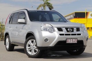 2011 Nissan X-Trail T31 Series IV ST-L Brilliant Silver 1 Speed Constant Variable Wagon.