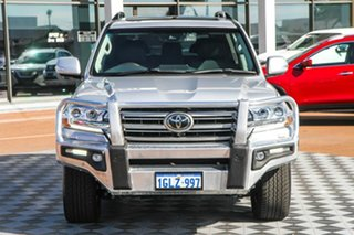 2018 Toyota Landcruiser VDJ200R Sahara Silver 6 Speed Sports Automatic Wagon