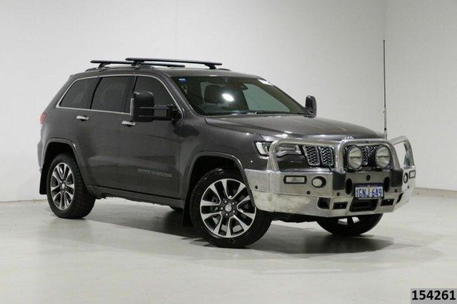 Used Jeep Grand Cherokee WK MY18 Overland (4x4) Bentley, 2018 Jeep Grand Cherokee WK MY18 Overland (4x4) Grey 8 Speed Automatic Wagon