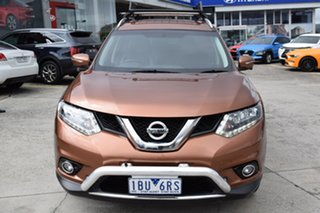 2014 Nissan X-Trail T32 ST-L X-tronic 4WD Gold 7 Speed Constant Variable Wagon.