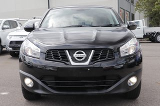 2011 Nissan Dualis J10 Series II MY2010 Ti Hatch Black 6 Speed Manual Hatchback