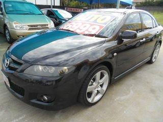 2006 Mazda 6 GG1032 Luxury Sports Black 5 Speed Sports Automatic Hatchback.