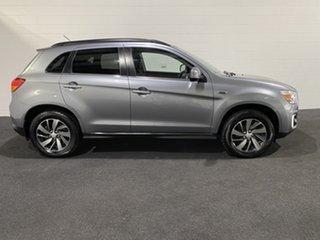 2014 Mitsubishi ASX XB MY15 LS 2WD Silver 6 Speed Constant Variable Wagon.