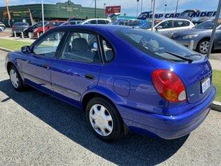 2000 Toyota Corolla AE112R Ascent Seca Blue 4 Speed Automatic Liftback.