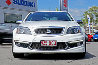 2015 Holden Special Vehicles Grange Gen-F MY15 White 6 Speed Sports Automatic Sedan.