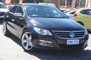 2012 Volkswagen CC Type 3CC MY12.5 125TDI DSG Black 6 Speed Sports Automatic Dual Clutch Coupe.