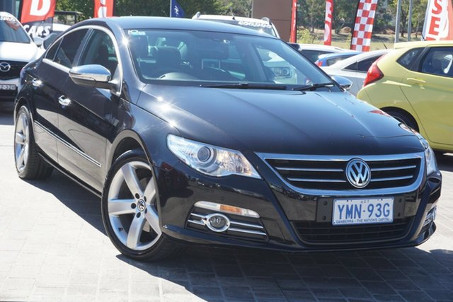 Used Volkswagen CC Type 3CC MY12.5 125TDI DSG Phillip, 2012 Volkswagen CC Type 3CC MY12.5 125TDI DSG Black 6 Speed Sports Automatic Dual Clutch Coupe