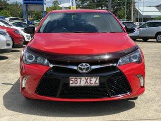 2017 Toyota Camry ASV50R RZ Red 6 Speed Sports Automatic Sedan.