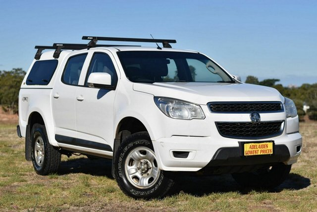 Used Holden Colorado RG MY16 LS Crew Cab Morphett Vale, 2016 Holden Colorado RG MY16 LS Crew Cab White 6 Speed Sports Automatic Utility