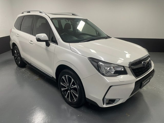 Used Subaru Forester S4 MY17 XT CVT AWD Premium Hamilton, 2017 Subaru Forester S4 MY17 XT CVT AWD Premium White 8 Speed Constant Variable Wagon