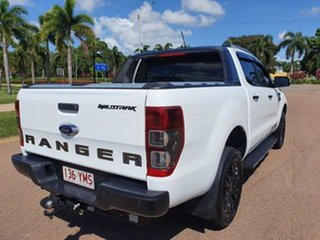 2018 Ford Ranger PX MkIII 2019.00MY Wildtrak Frozen White 10 Speed Sports Automatic Utility.