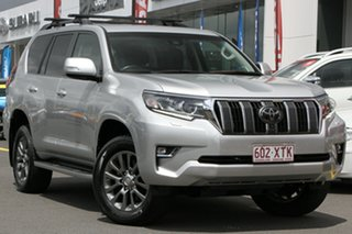 2017 Toyota Landcruiser Prado GDJ150R VX Silver 6 Speed Sports Automatic Wagon.
