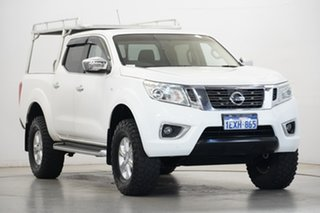 2015 Nissan Navara D23 ST White 6 Speed Manual Utility