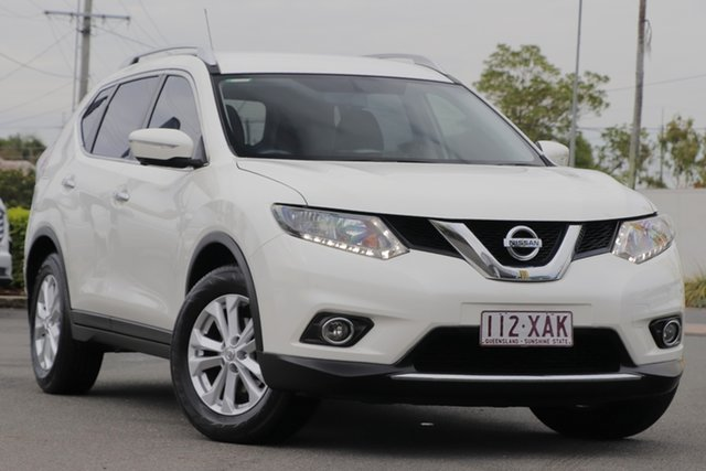 Used Nissan X-Trail T32 ST-L X-tronic 2WD Rocklea, 2016 Nissan X-Trail T32 ST-L X-tronic 2WD Ivory Pearl 7 Speed Constant Variable Wagon