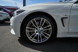 2019 BMW 4 Series F32 LCI 430i M Sport Alpine White 8 Speed Sports Automatic Coupe.