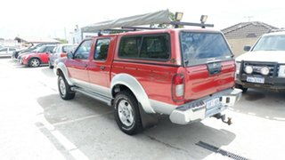2003 Nissan Navara D22 MY2002 ST-R Red 5 Speed Manual Utility