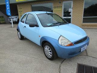 2000 Ford Ka TA Blue 5 Speed Manual Hatchback.