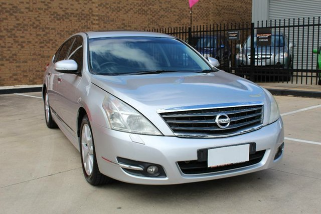 Used Nissan Maxima J32 250 ST-L Hoppers Crossing, 2009 Nissan Maxima J32 250 ST-L Silver Continuous Variable Sedan