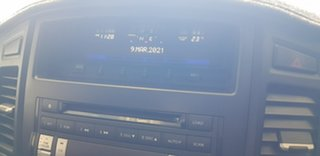 2009 Mitsubishi Pajero NT MY10 GLX LWB (4x4) Silver 5 Speed Auto Sports Mode Wagon