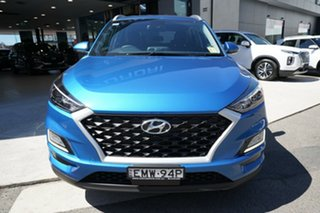 2020 Hyundai Tucson ACTIVE X Active X (2WD) Aqua Blue 6 Speed Automatic Wagon
