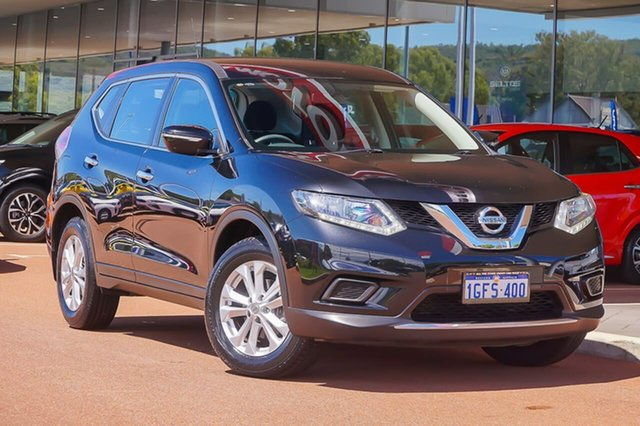 Used Nissan X-Trail T32 ST X-tronic 2WD Gosnells, 2016 Nissan X-Trail T32 ST X-tronic 2WD Black 7 Speed Constant Variable Wagon