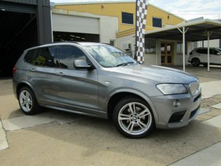 2012 BMW X3 F25 MY0412 xDrive30d Steptronic Grey 8 Speed Automatic Wagon.