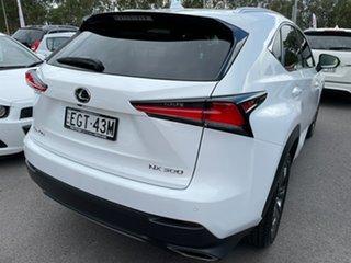 2020 Lexus NX AGZ10R NX300 2WD F Sport Pearl White 6 Speed Sports Automatic Wagon
