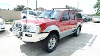 2003 Nissan Navara D22 MY2002 ST-R Red 5 Speed Manual Utility