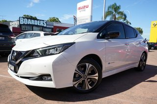 2019 Nissan Leaf ZE1 White 1 Speed Automatic Hatchback.