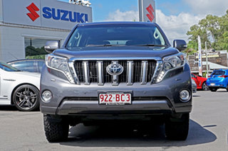 2017 Toyota Landcruiser Prado GDJ150R Kakadu Grey 6 Speed Sports Automatic Wagon.