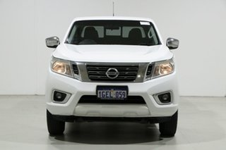 2017 Nissan Navara D23 Series II RX (4x2) White 7 Speed Automatic Double Cab Utility.