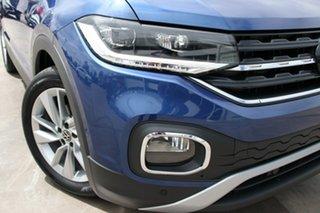 2020 Volkswagen T-Cross C1 MY21 85TSI DSG FWD Style Dark Petrol 7 Speed Sports Automatic Dual Clutch.