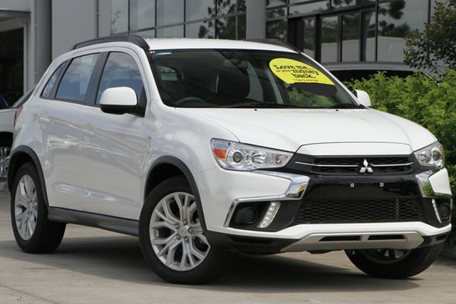 Used Mitsubishi ASX XC MY19 ES 2WD Aspley, 2019 Mitsubishi ASX XC MY19 ES 2WD White 1 Speed Constant Variable Wagon