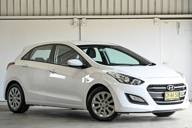 Used Hyundai i30 GD4 Series II MY17 Active Laverton North, 2016 Hyundai i30 GD4 Series II MY17 Active White 6 Speed Sports Automatic Hatchback