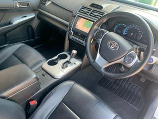 2012 Toyota Camry HYBRID White Automatic Sedan