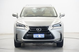 2015 Lexus NX AGZ15R NX200t AWD Sports Luxury Grey 6 Speed Sports Automatic Wagon.