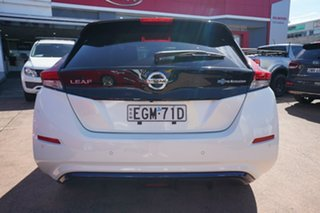 2019 Nissan Leaf ZE1 White 1 Speed Automatic Hatchback